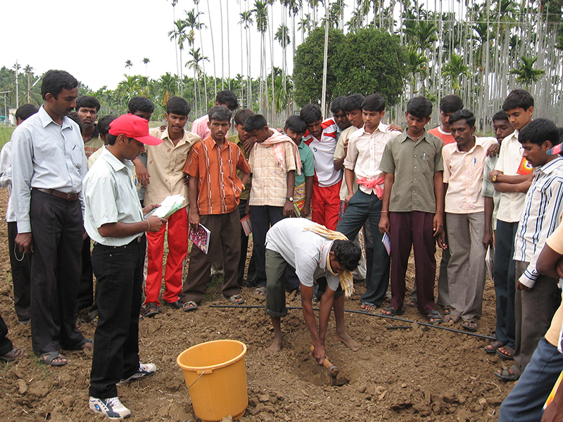 Soil Testing Campaign